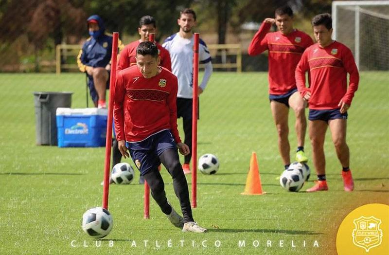 Entrenamiento Atletico Morelia