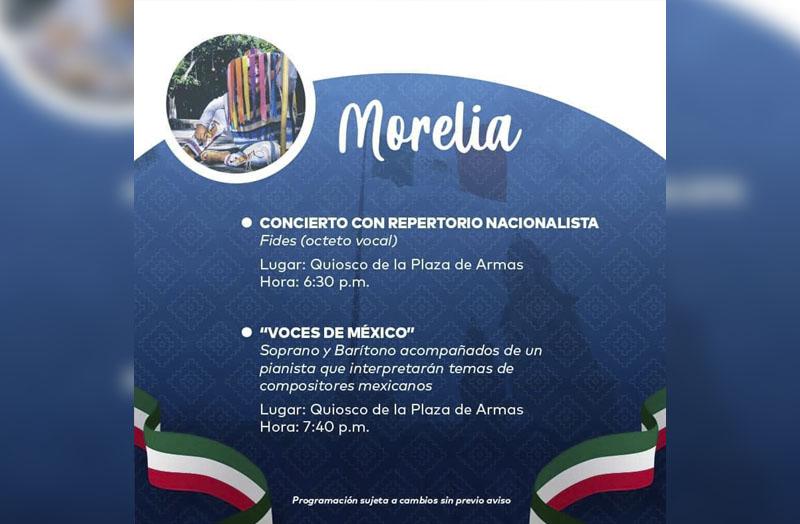 Agenda Morelia