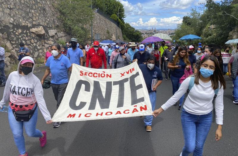 Marcha CNTE