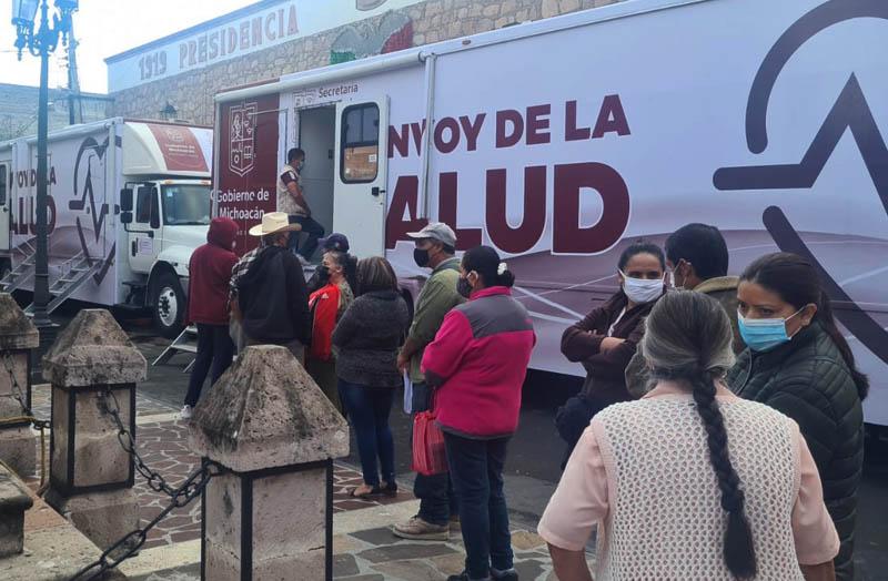 convoy salud Huadacareo