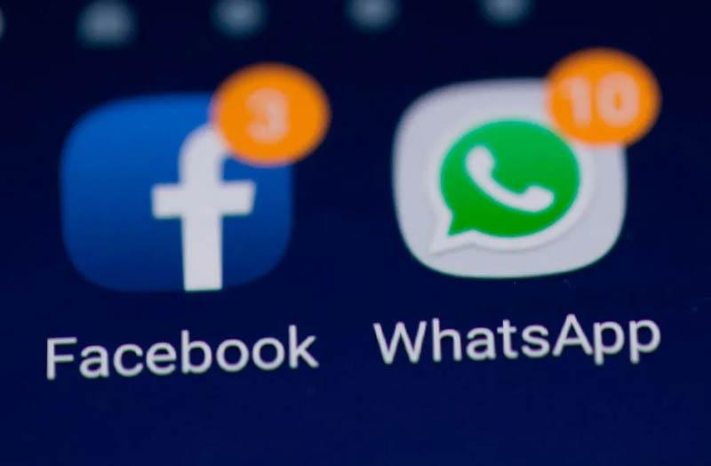 facebook y whats
