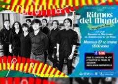 """Presenta UNAM concierto """"Ritmos del Mundo"""""""